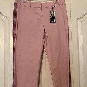 Pink cropped pants